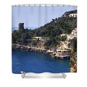 Furore - Coast Of Amalfi Shower Curtain