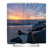 Colorful Start Shower Curtain