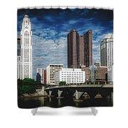 Columbus Ohio Shower Curtain