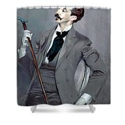 Count Robert De Montesquiou Shower Curtain