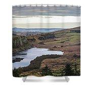 Crag Lough Shower Curtain