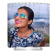 Cristo Redentor, Brazil Shower Curtain