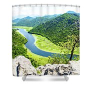 Crnojevic River, Montenegro Shower Curtain