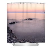 Croatian Sunsets Shower Curtain