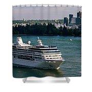 Cruise Ship 4 Shower Curtain