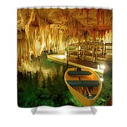 Crystal Cave In Hamilton Parish Bermuda Shower Curtain