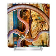 Curves And Lines  Shower Curtain