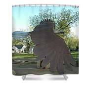 Custer Park, Bismarck, Nd, Usa - Bicentennial Of The Constitution Shower Curtain