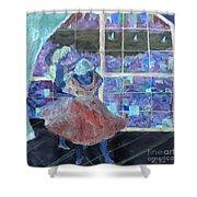 Dansarinas Shower Curtain