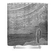 Dante: Paradise Shower Curtain by Granger