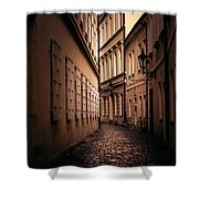 Dark Street Shower Curtain