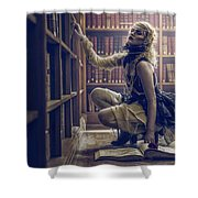 Dark Tales And The Rose Of Solitude Shower Curtain