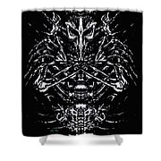 Darkness Of Women Shower Curtain