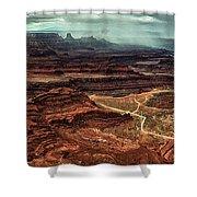 Dead Horse Canyon Shower Curtain