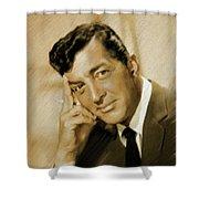 Dean Martin, Actor, Crooner Shower Curtain