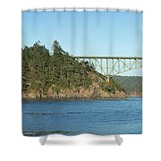 Deception Pass Shower Curtain