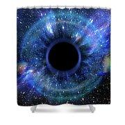 Deep Black Hole, Like An Eye In The Sky Shower Curtain