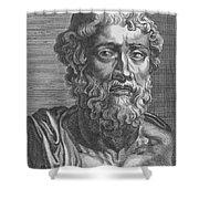 Demosthenes, Ancient Greek Orator Shower Curtain