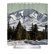 Denali Park - Alaska Shower Curtain