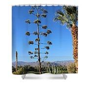 Desert Willow Golf Resort Shower Curtain