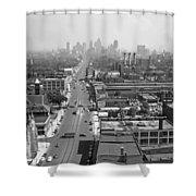 Detroit 1942 Shower Curtain