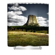 Devil's Tower - Wyoming Shower Curtain
