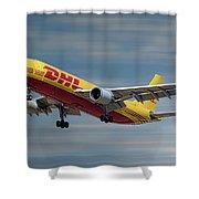 Dhl Airbus A300-f4 Shower Curtain