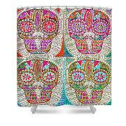 Dod Art 123 Shower Curtain