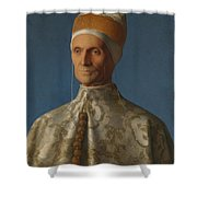 Doge Leonardo Loredan Shower Curtain