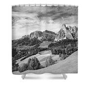 Dolomiti, Landscape Shower Curtain