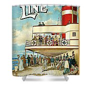 Dominion Line Shower Curtain