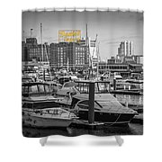 Domino Sugars Shower Curtain