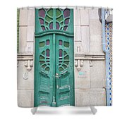 Doors Of Portugal  Shower Curtain