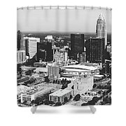 Downtown Charlotte Shower Curtain