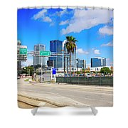 Downtown Tampa Fl, Usa Shower Curtain