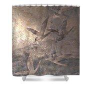 Drifting Birds Shower Curtain