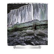 Dry Falls - Highlands, Nc Shower Curtain
