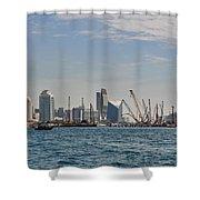 Dubai Creek And Abra Boats Shower Curtain