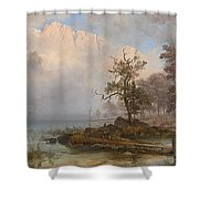 Duck Hunter Shower Curtain