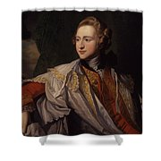 Duke Of Leeds By Benjamin West Shower Curtain