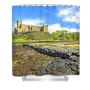 Dunvegan Castle Landscape Shower Curtain