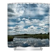 Dutch Skies Shower Curtain