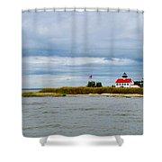 East Point Lighthouse Shower Curtain