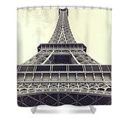 Eiffel Tower By The Seine Shower Curtain