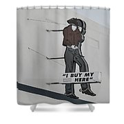 El Paso Western Wear Shower Curtain