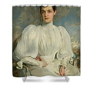 Elsie Wagg Shower Curtain