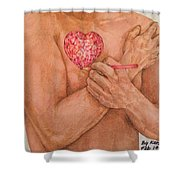 Embrace Love Shower Curtain