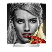 Emma Roberts Collection Shower Curtain