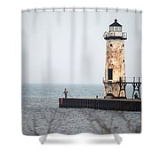 End Of The Pier Shower Curtain