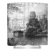 England: Warwick Castle Shower Curtain